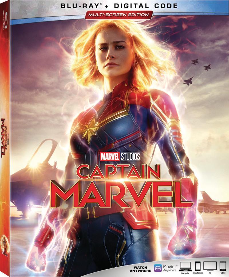 Captain Marvel Blu-Ray