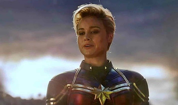Captain Marvel Brie Larson Avengers 4