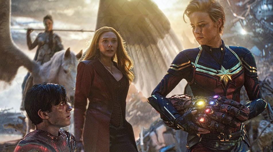 Brie Larson Captain Marvel Spider-Man
