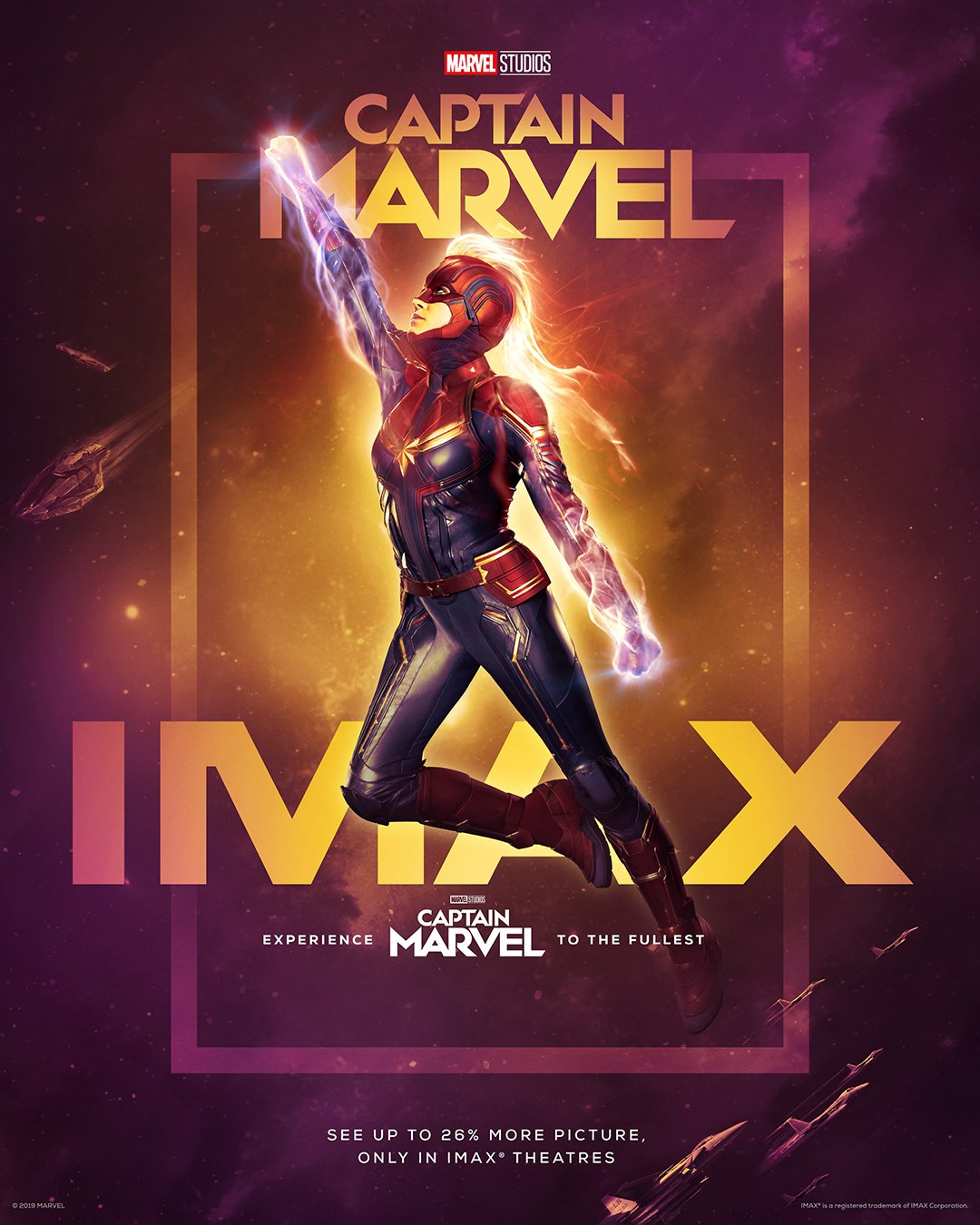 Captain Marvel IMAX Poster