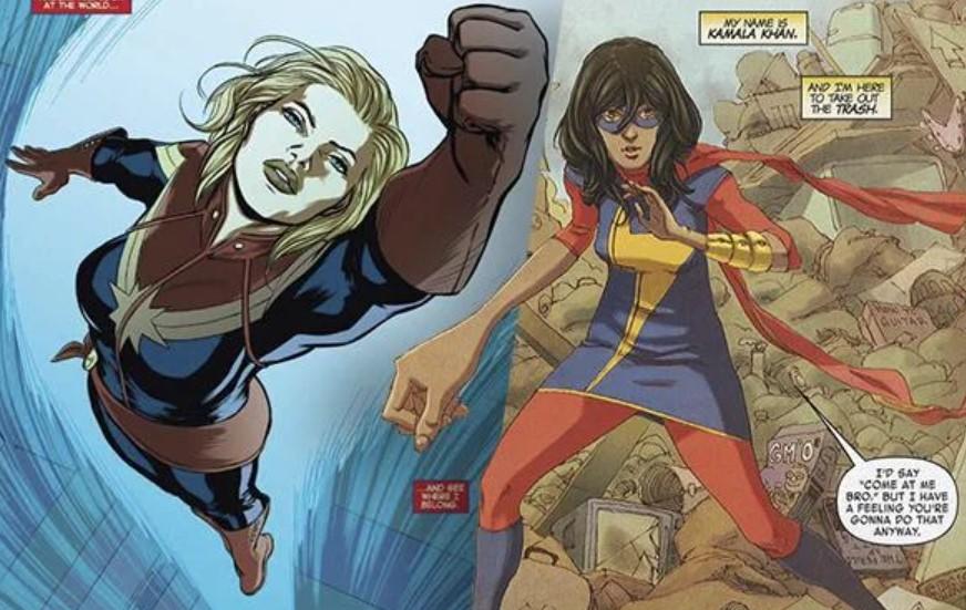 Captain Marvel Ms Marvel