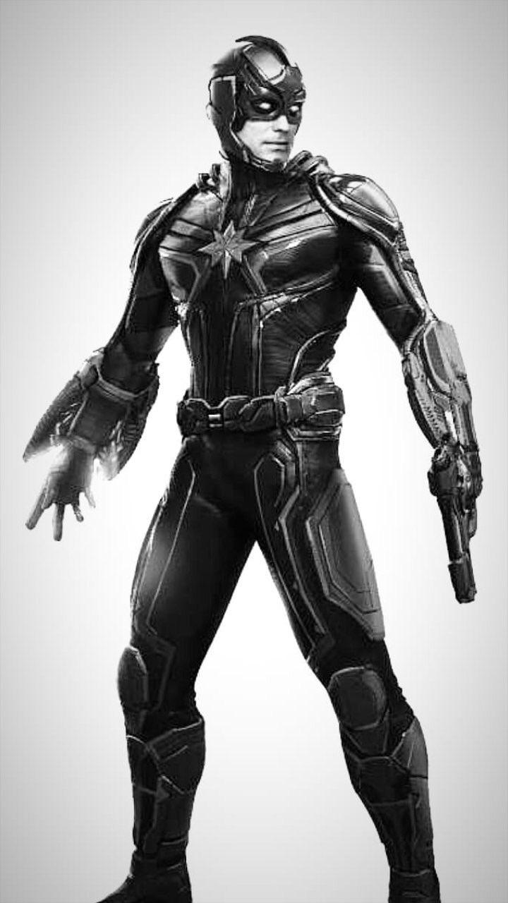 Captain Marvel Art Features Skrull Mowhawk And Starforce Leader