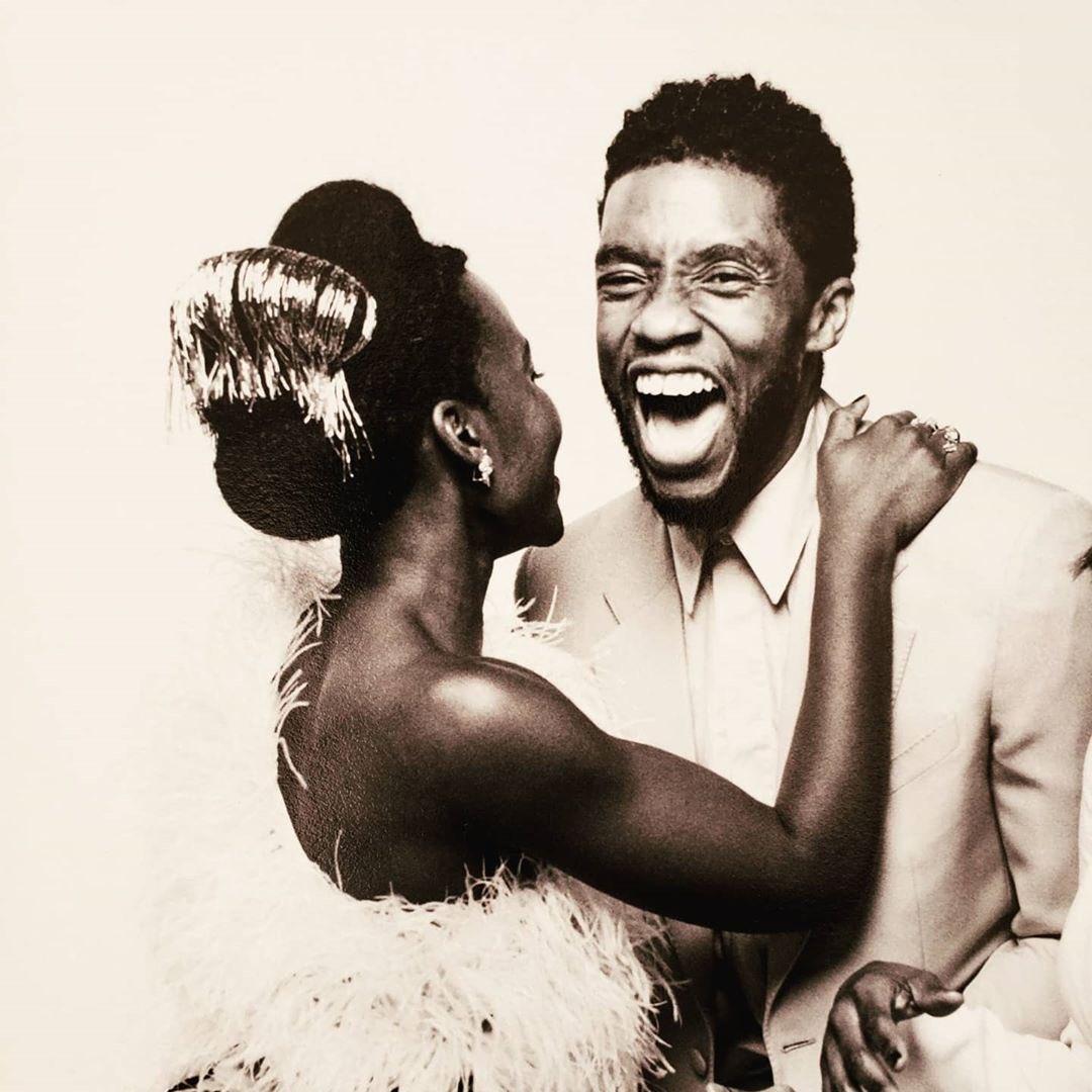 Lupita Nyong'o mourns 'ageless' Chadwick Boseman