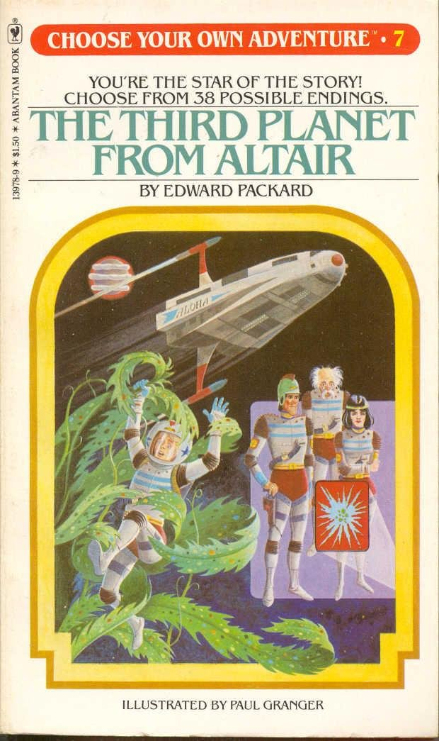 Choose Your Own Adventure Third Planet From Altair