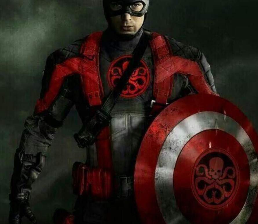 Chris Evans Captain America Hydra Fan art