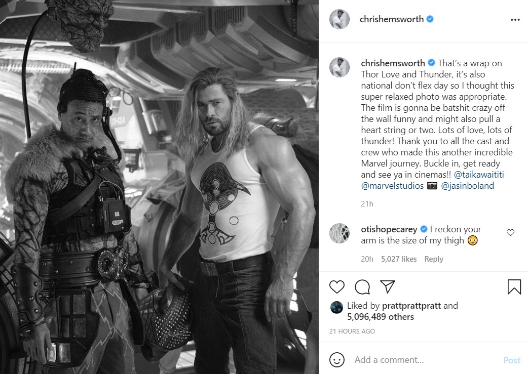 Chris Hemsworth Thor 4