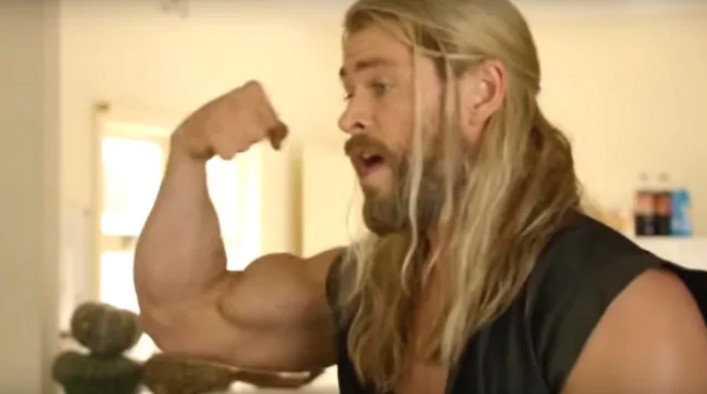 Chris Hemsworth Thor muscles