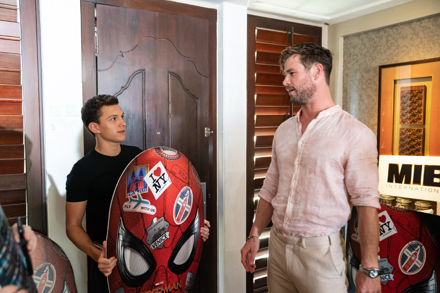 Chris Hemsworth Tom Holland Spider-Man: Far From Home