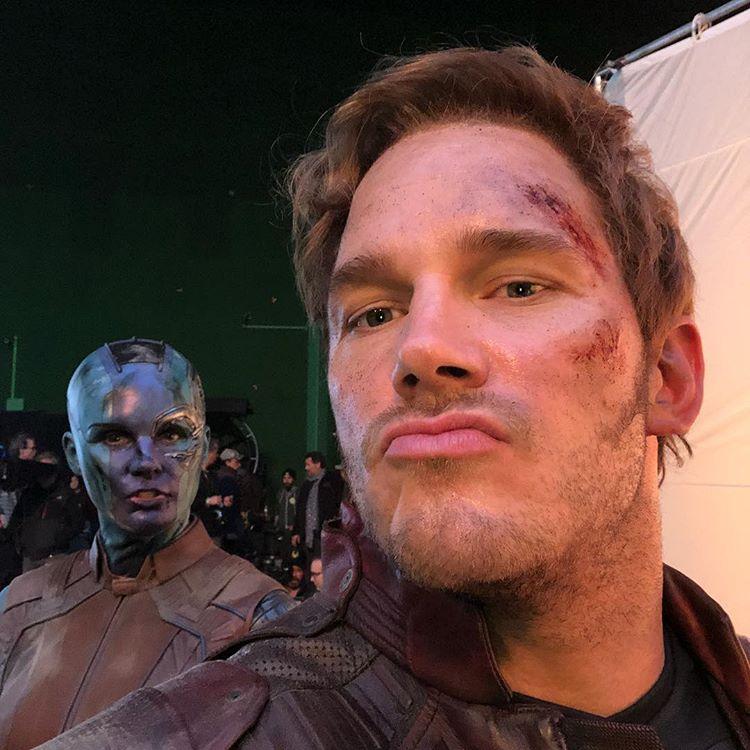 Chris Pratt Avengers Endgame