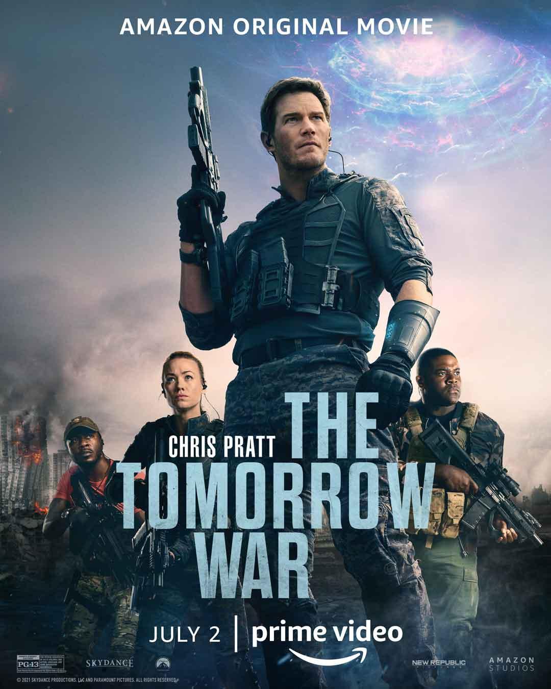 Chris Pratt The Tomorrow War poster