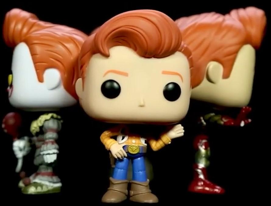 Conan OBrien ConanCon Comic-Con Toy Story 4 Funko