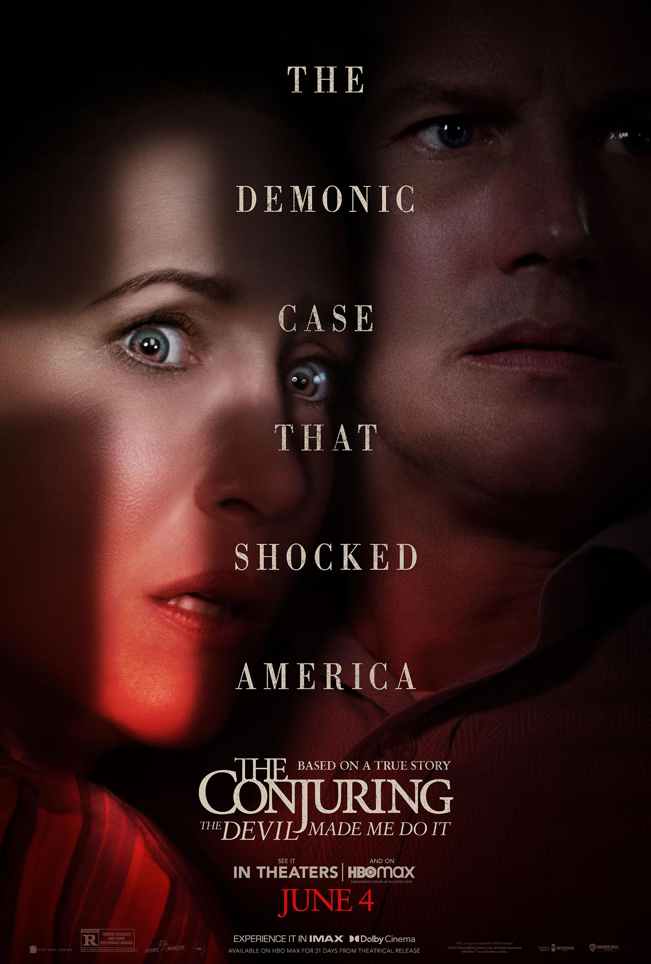 The Conjuring The Devil Made Me Do It Poster
