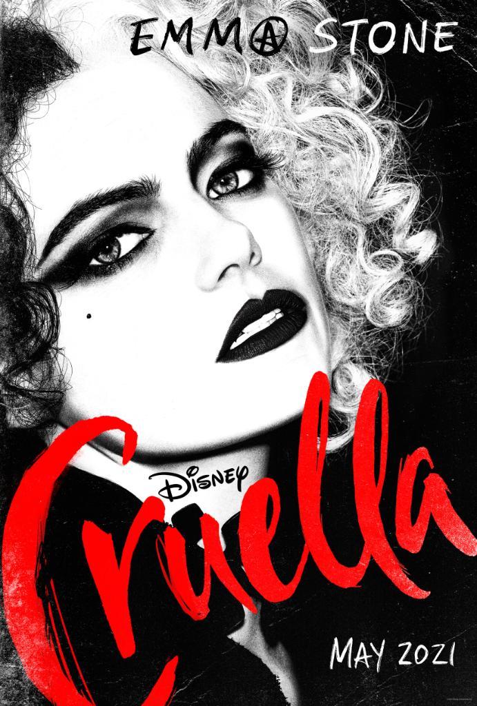 Cruella Emma Stone poster