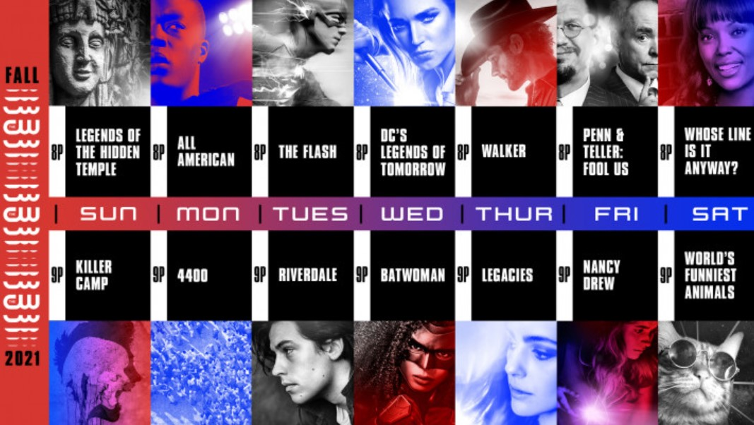 The CW Fall 2021 schedule