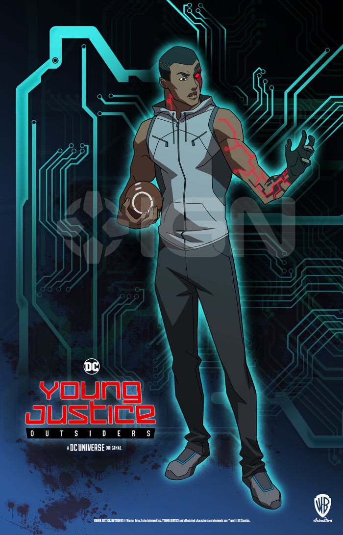 Young Justice Outsiders Cyborg