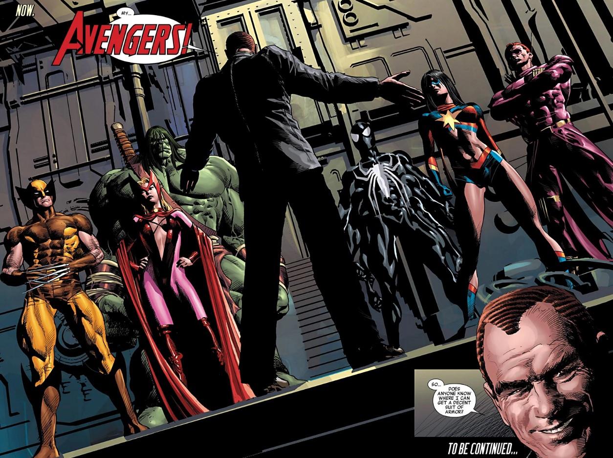 Norman Osborn and Dark Avengers Marvel