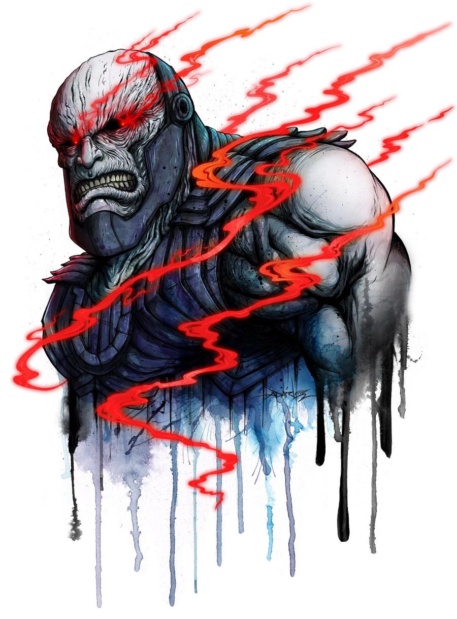Darkseid promo art Snyder Cut t-shirt