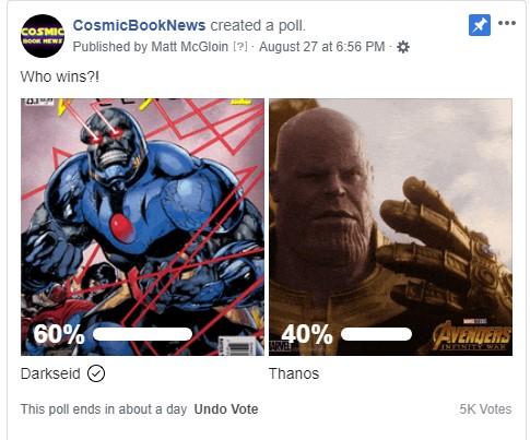 Darskeid Thanos poll