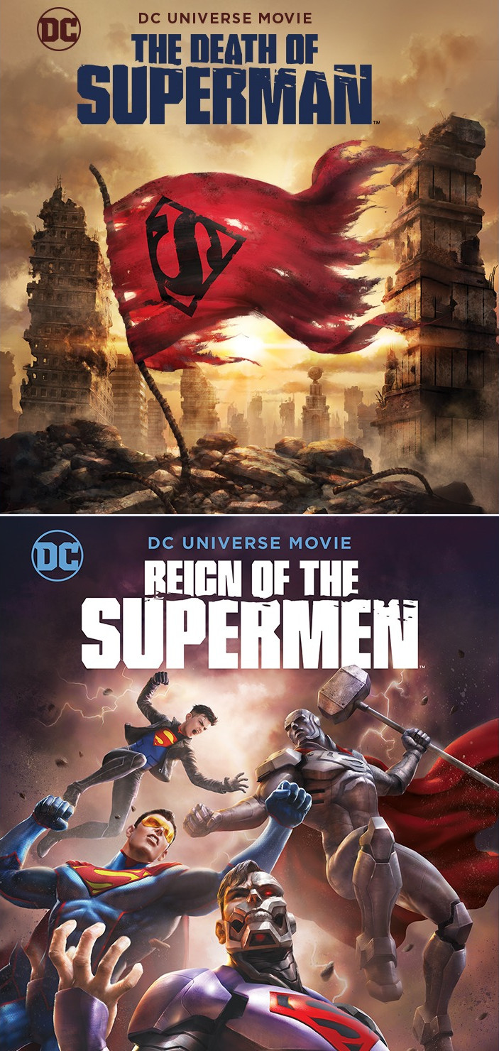 Death Of Superman and Reign Of The Supermen double feature