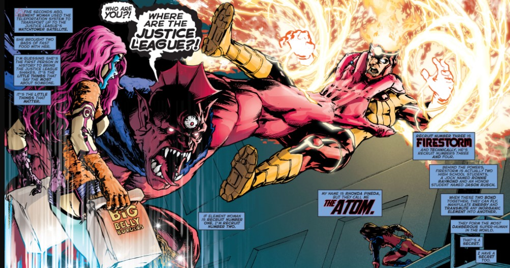 Despero vs Justice League