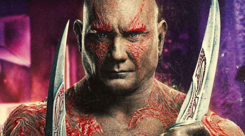 Dave Bautista Drax Guardians of the Galaxy Marvel