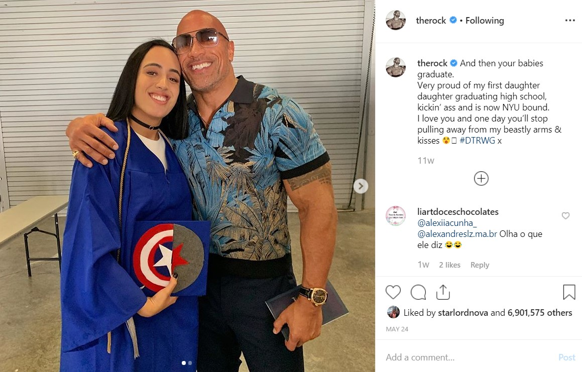 Dwayne Johnson Marvel