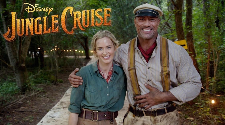 Dwayne Johnson Emily Blunt Jungle Cruise