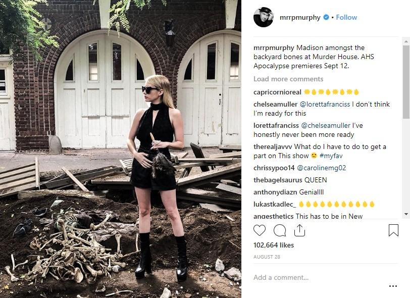 Emma Roberts American Horror Story Apocalypse