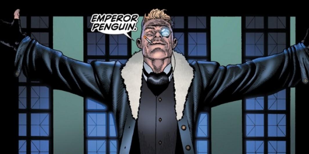 Emperor Penguin DC Comics