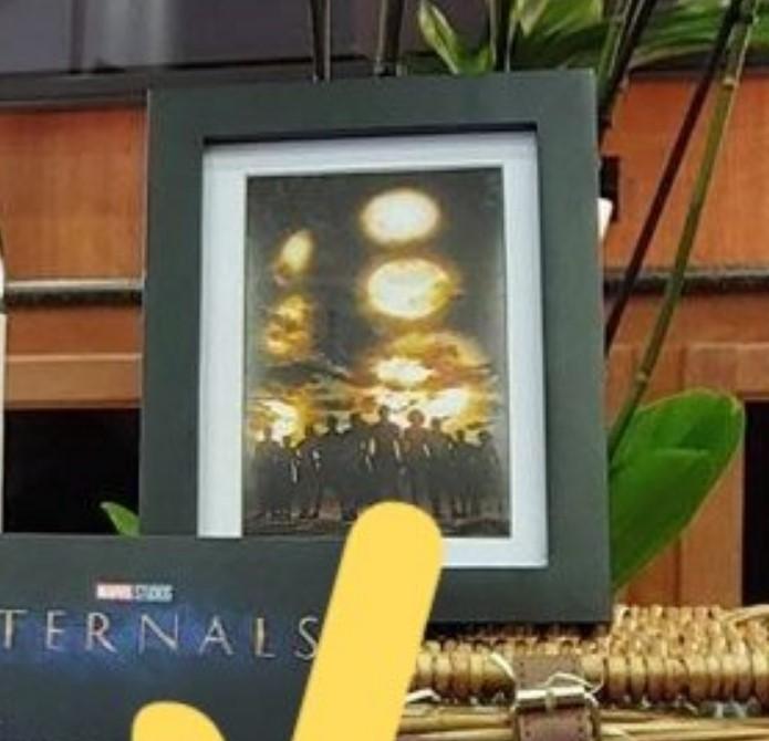 Marvel's Eternals concept art cast Celestial