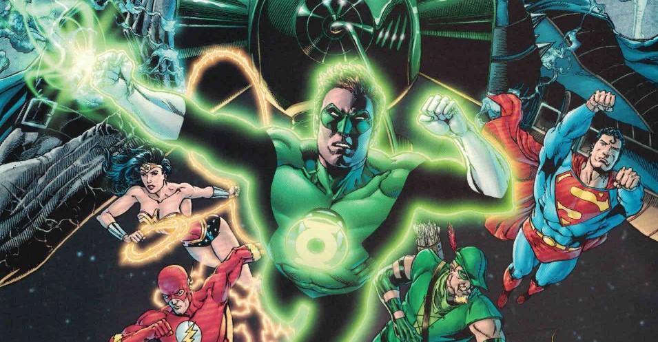 Ethan Van Sciver Blackest Night DC Comics Green Lantern