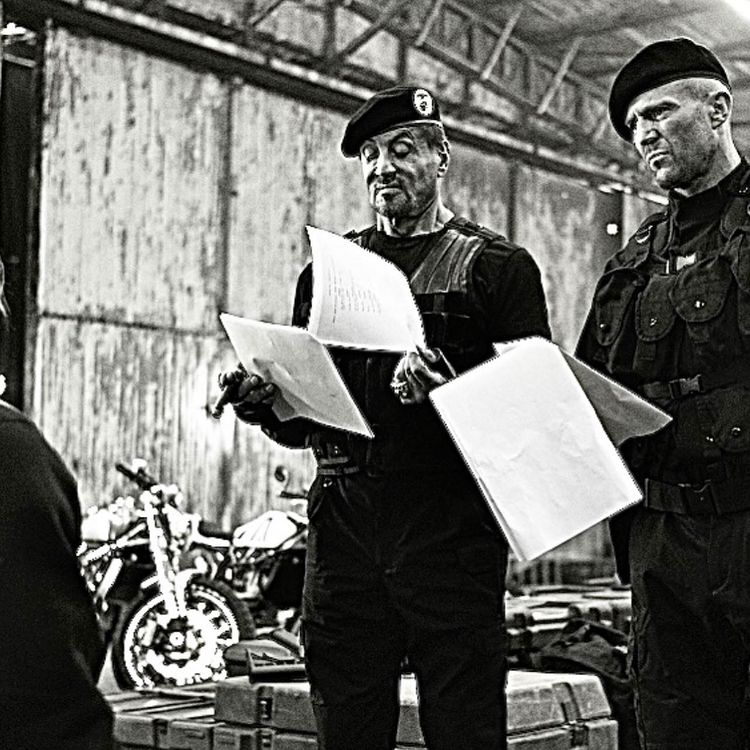 The Expendables 4 Sylvester Stallone and Jason Statham