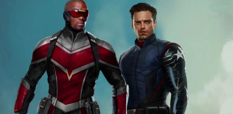 The Falcon and the Winter Soldier concept art