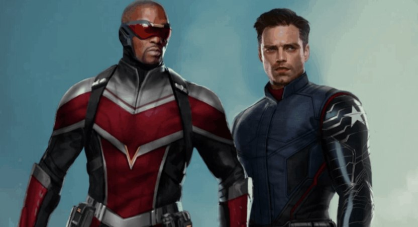 The Falcon and the Winter Soldier Sebastian Stan Anthony Mackie