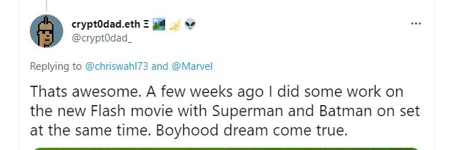 The Flash movie Superman