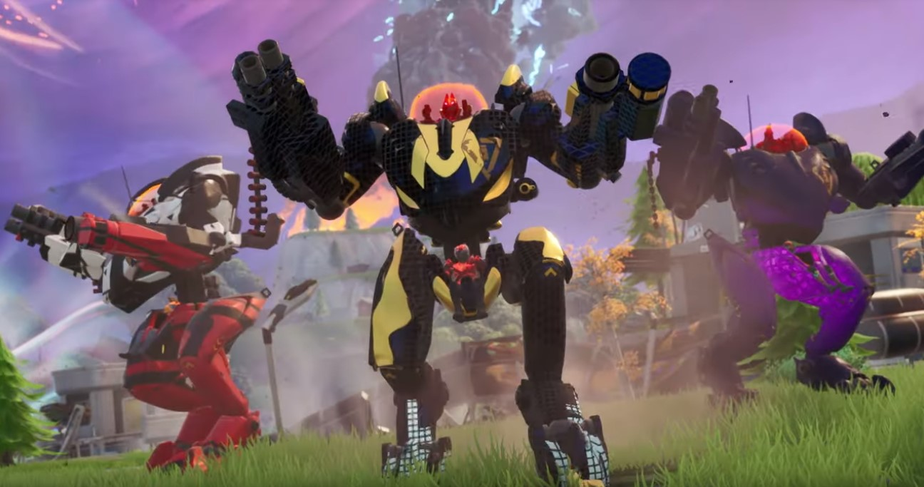 Fortnite BRUTE mechs