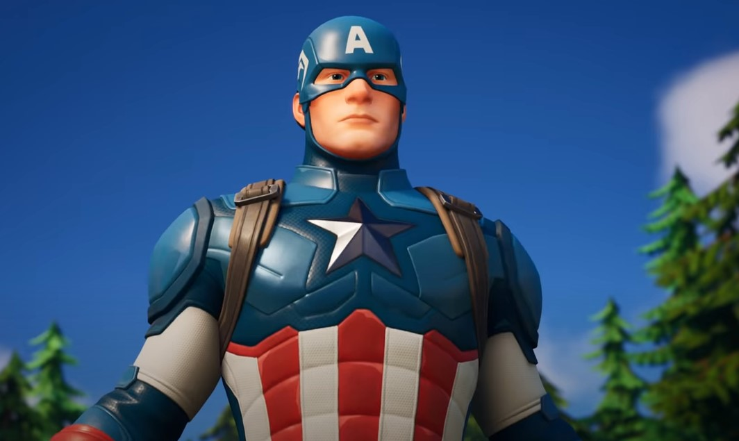 Captain America Fortnite