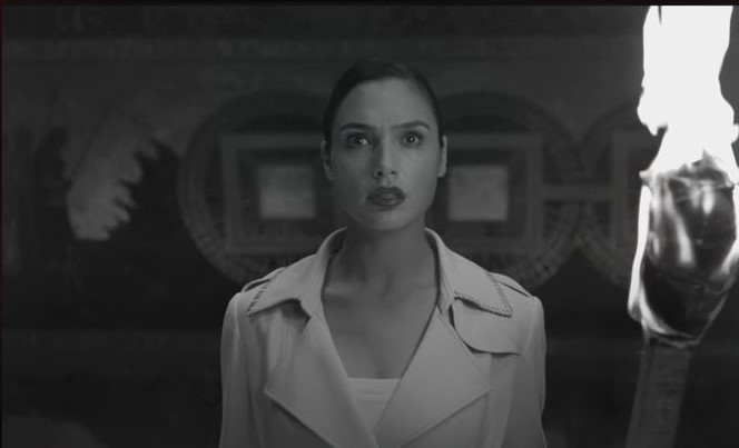 Gal Gadot Amazon Shrine Justice League