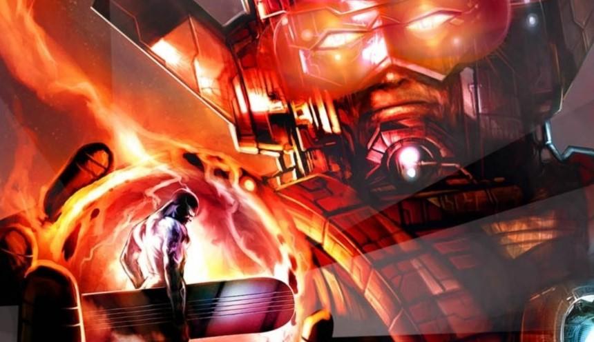 Galactus Silver Surfer Marvel MCU