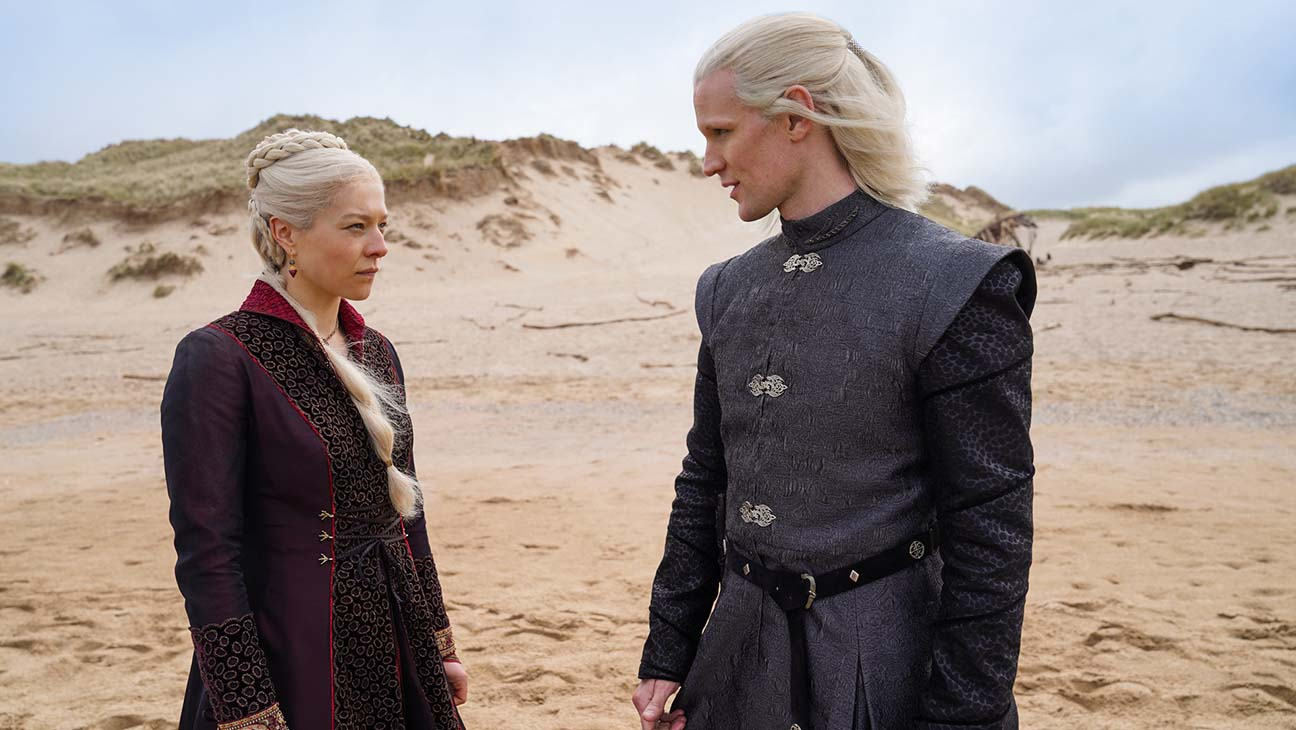 Game of Thrones House of the Dragon Matt Smith and Emma D'Arcy