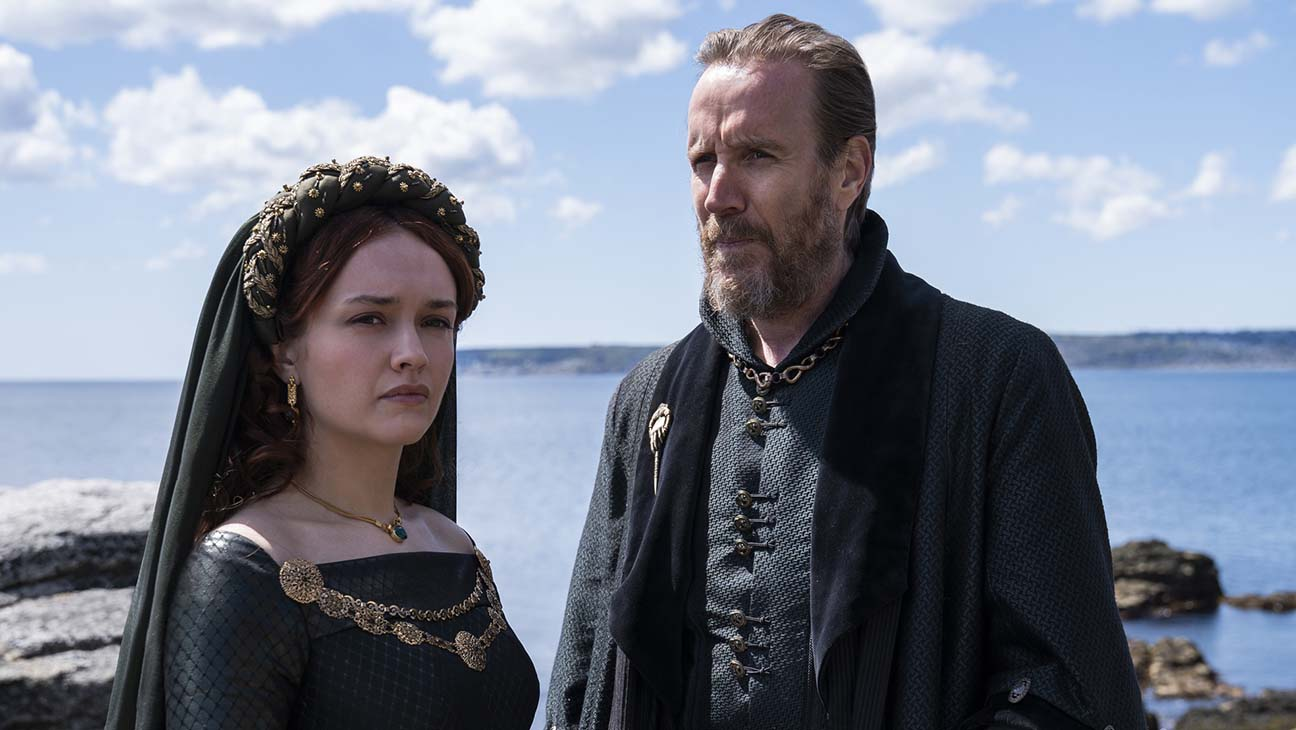 Game of Thrones House of the Dragon Olivia Cooke and Rhys Ifans