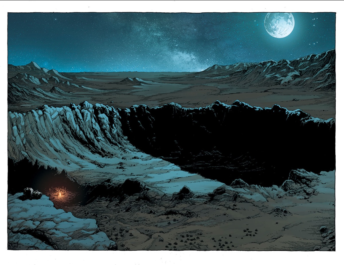 Geoff Johns Image Comics Geiger