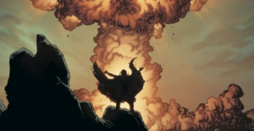 Geoff Johns Geiger Image Comics