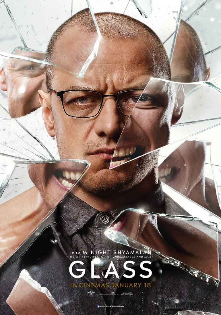 Glass James McAvoy poster