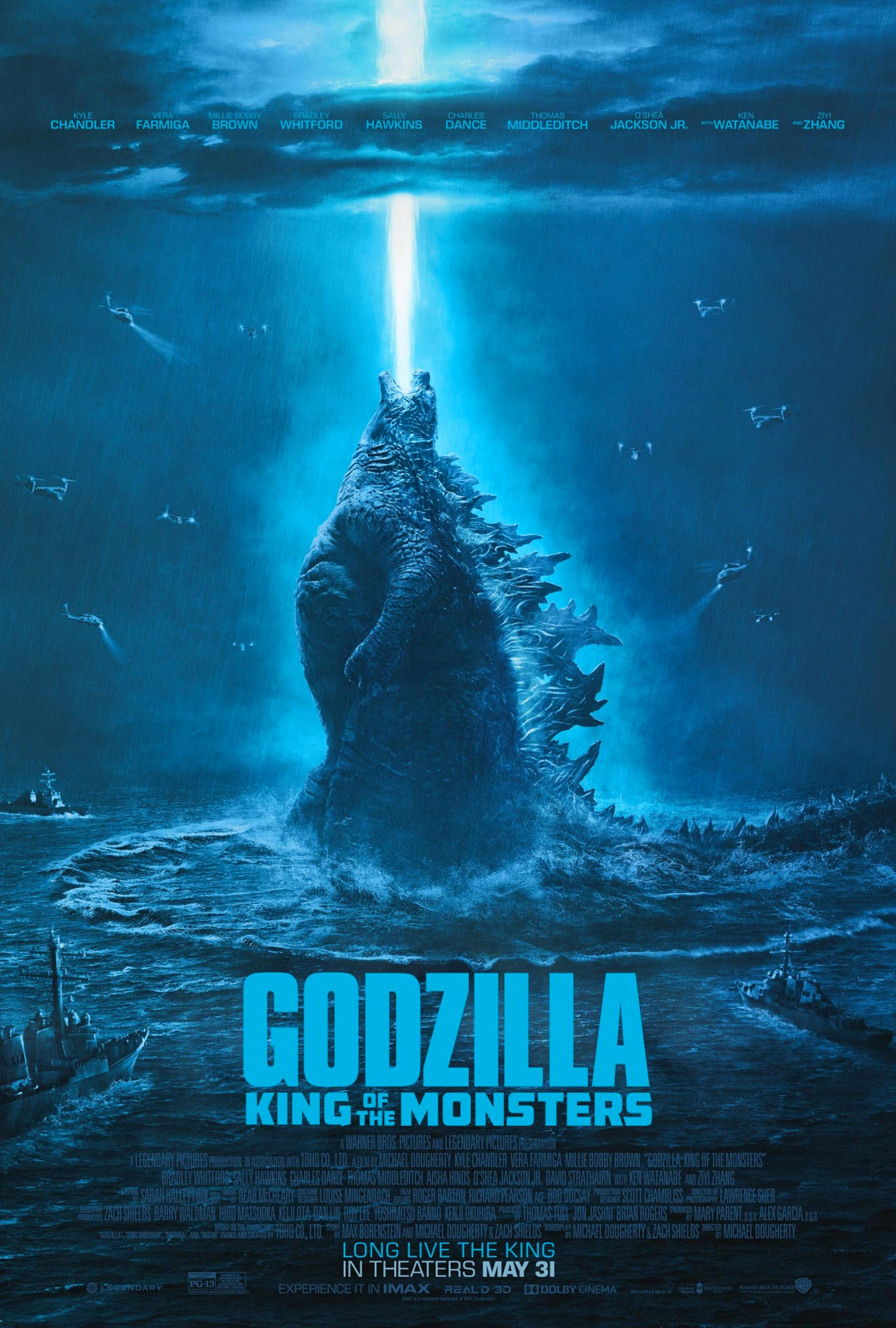 Godzilla King of the Monsters Atomic Breath Poster