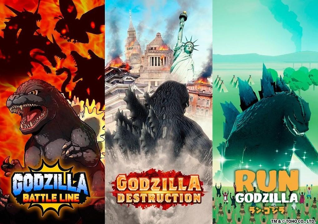 Godzilla mobile games