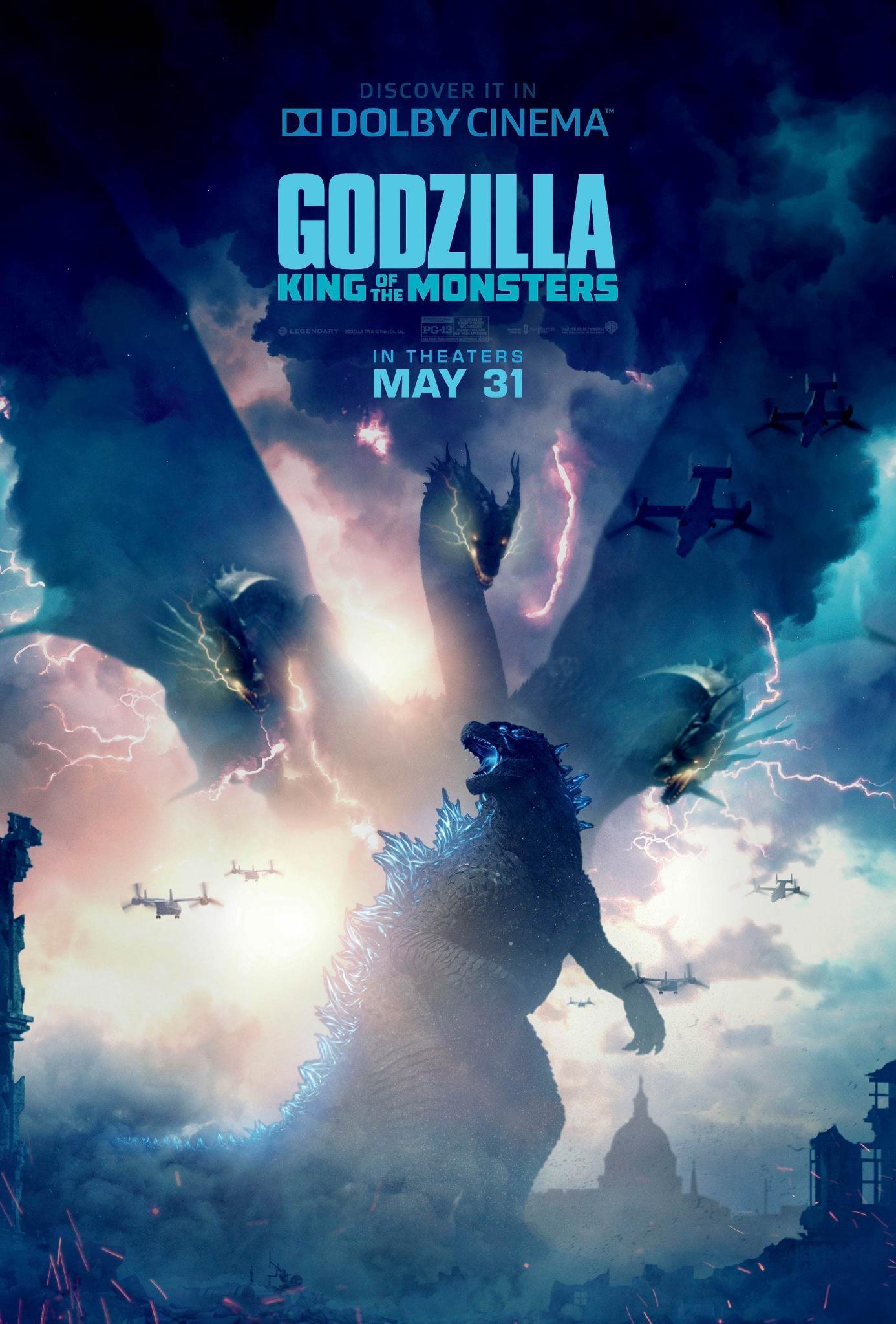Godzilla tickets