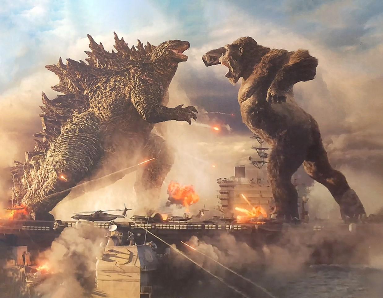 Godzilla vs Kong art