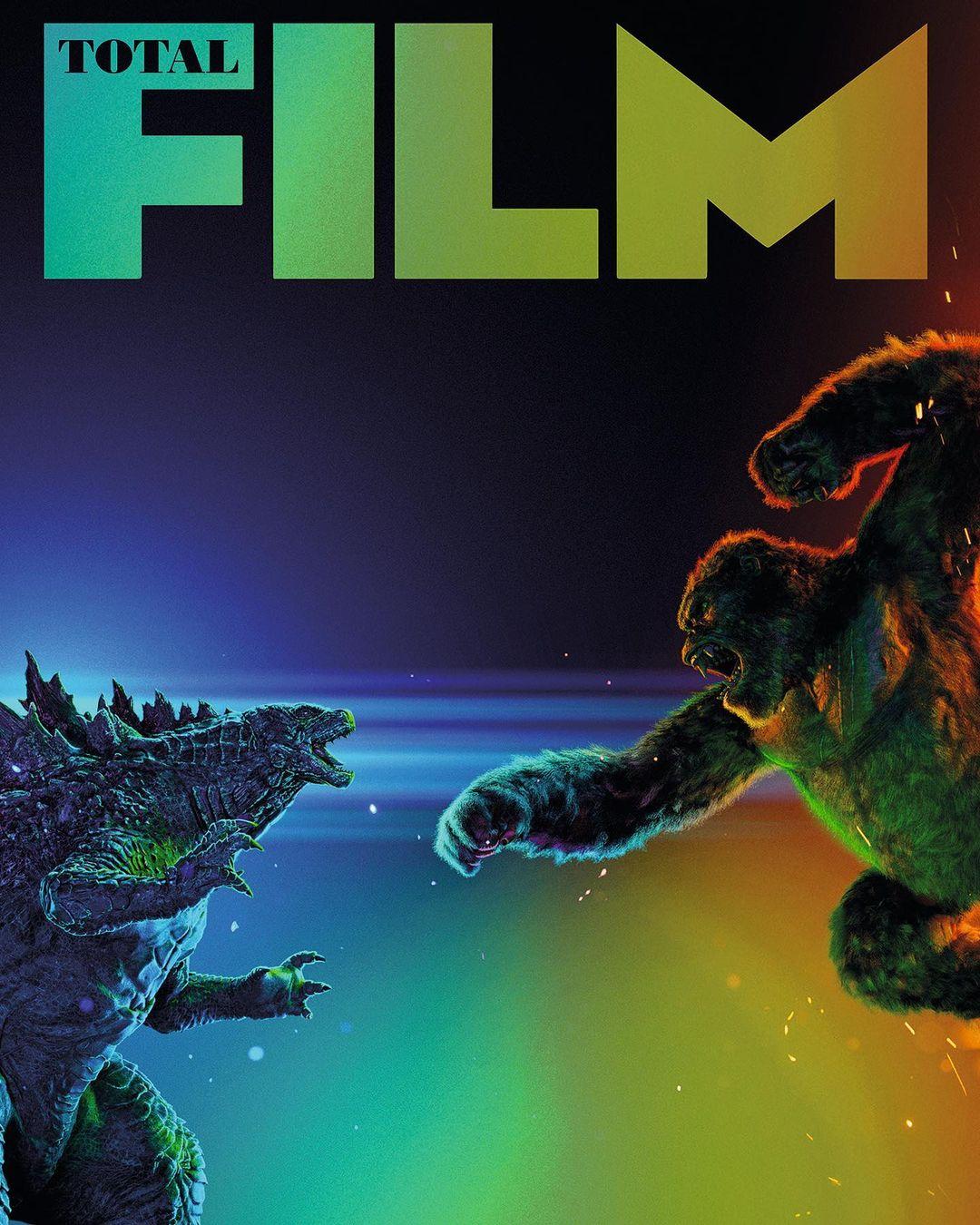 Godzilla vs Kong Total Film magazine