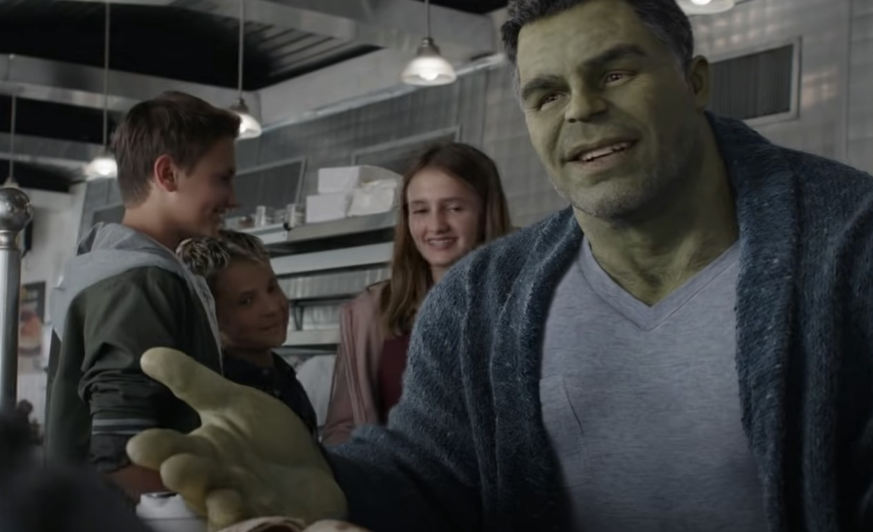 Goofy Hulk Avengers Endgame